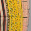 Heartmade Roxy Yellow Scarf detail