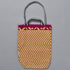 Heartmade Pink Chevron Patterned Medium Tote