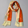 Orange & Olive Dawn Cosmos Scarf