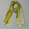 Grey & Olive Early Cosmos Scarf