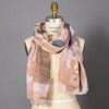 Orchid Eye Of The Storm Gauze Scarf on mannequin