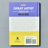 Back of book Kid Artists: True Tales of Childhood From Creative Legends