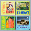 Fronts of 4 books from Mini French Masters Boxed Set