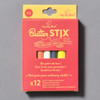 Front of packaging ButterStix Zero-Dust Chalk 12 Pack With Holder