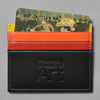 Philadelphia Museum of Art Credit Card Holder with a membership card in pocket