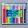 Chroma Blends Watercolor Brush Markers front of packaging