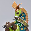 Horse Weapon Master Dragon figurine close up