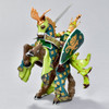 Horse Weapon Master Dragon figurine with rider