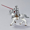 Horse in Armor figurine with rider