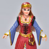 Medieval Queen figurine close up