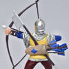 Archer Blue and Gold figurine close up