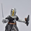 Hospitaller Knight With Sword figurine close up