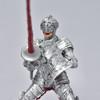 Knight in Armor figurine close up