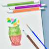Chroma Blends Watercolor Mechanical Pencils, example of use