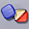 BENTO BOX ROYAL BLUE open with lid