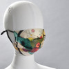 Kandinsky Circles in Circle Face Mask on mannequin