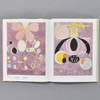 Interior of book Hilma Af Klint Paintings for the Future