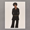Barkley Hendricks Miss T Mini Poster