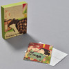 Yoshitoshi Female Beauty Notecard Set, front of box with notecard and envelope