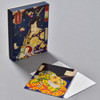 Yoshitoshi Warriors and Actors Notecard Set, front of box and notecard with envelope