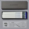 Blackwing Volumes Vol. 42 Jackie Robinson Balanced Graphite Pencils in open box with insert