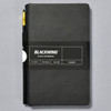 Blackwing Black Slate Notebook front with belly band