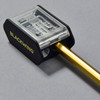 Blackwing Two-Step Long Point Pencil Sharpener with pencil being sharpened