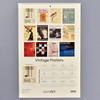 Vintage Exhibition Posters 2021 Wall Calendar back