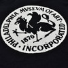 Philadelphia Museum of Art Griffin 1938 Youth T-Shirt detail of logo on front