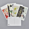 Museum American Modern Postcard Set, postcards fanned out