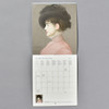Impressionism 2021 Wall Calendar inside, month grid and image