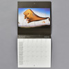 Dali 2021 Wall Calendar, inside, monthly grid with image
