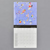 Kandinsky 2021 Wall Calendar, inside, monthly grid with imagery