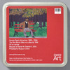 Horace Pippin: The Park Bench (Man on a Bench) Puzzle, back of tin