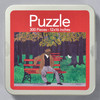 Horace Pippin: The Park Bench (Man on a Bench) Puzzle, front of tin