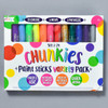 CHUNKIES PAINT STICKS 24 PACK, front of packaging
