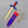 Camelot Sword and Pouch, sword outside of pouch