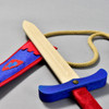 Camelot Sword and Pouch, close up, sword outside of pouch