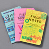 United States of Letterpress Notebooks (Set of 3), fronts