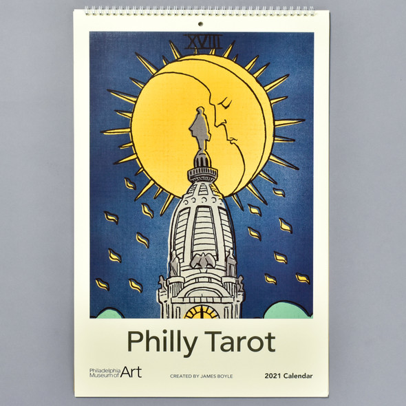 Philly Tarot 2021 Wall Calendar