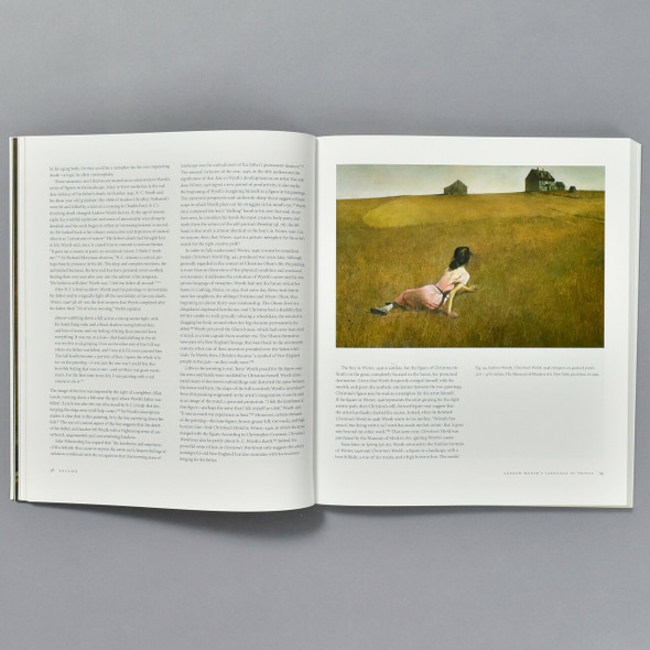 Pages from the book Andrew Wyeth Memory and  Magic