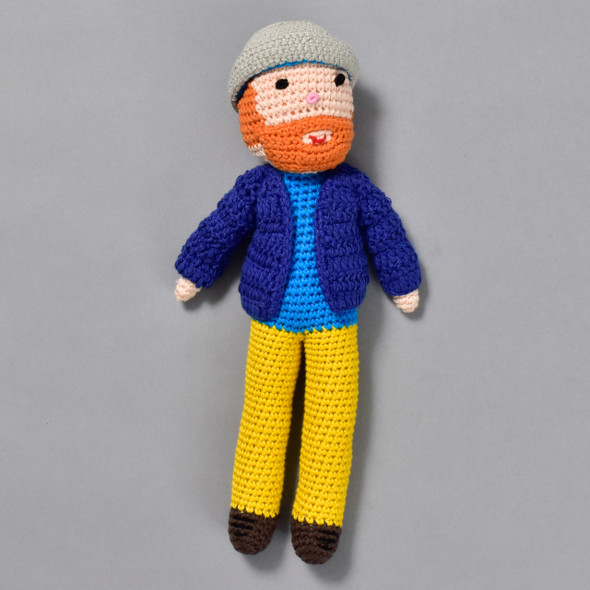 Vincent Van Gogh Crocheted Doll
