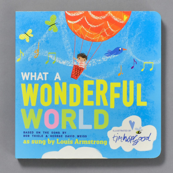 What A Wonderful World, cover of book