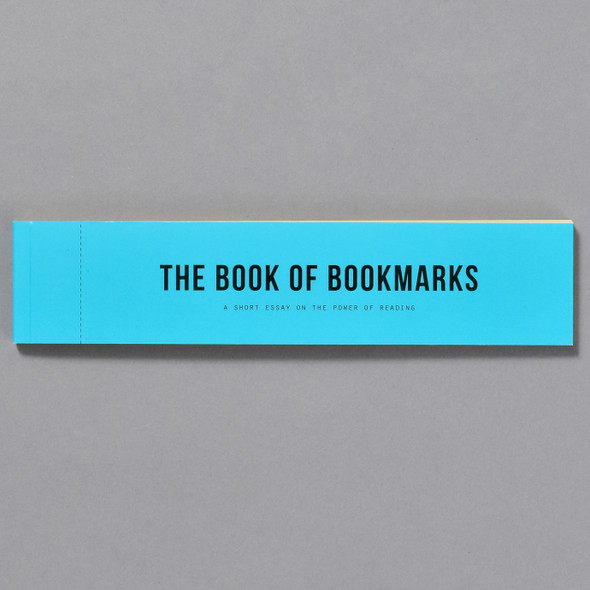 The Book of Bookmarks, front cover