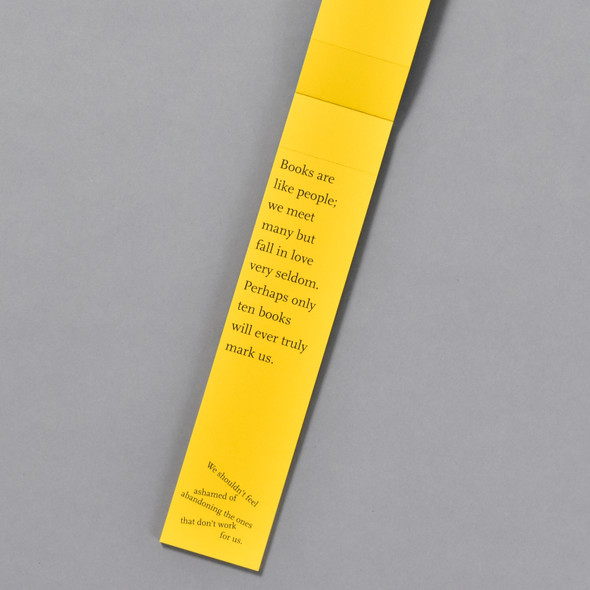 inside of The Book of Bookmarks