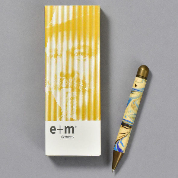 E+M Mocca Marble Pencil with box