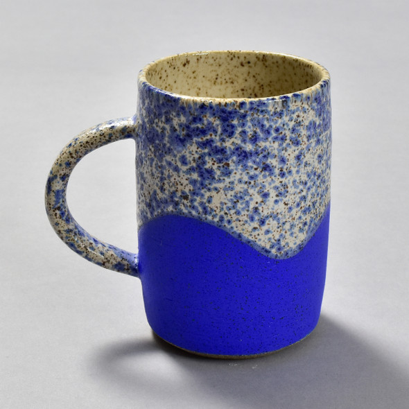 Cloud 9 Clay Mug blue