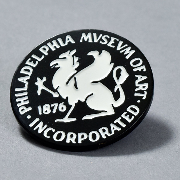 Philadelphia Museum of Art Griffin 1938 Enamel Pin