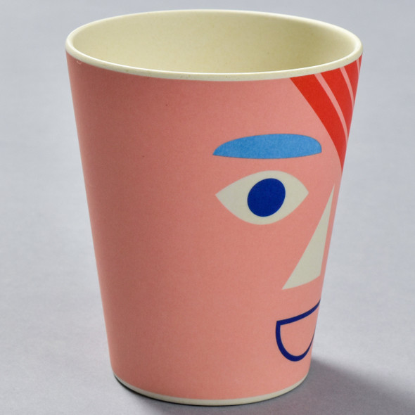 Bamboo Face Cup Coral