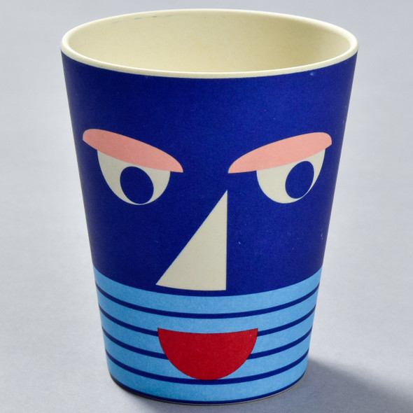 Bamboo Face Cup Blue